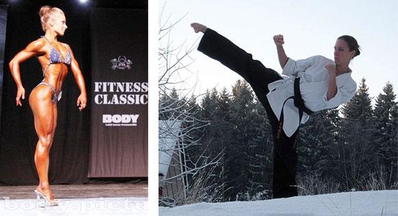 Mirka Loman, Seirenkain musta vyö ja Fitness 2011 SM